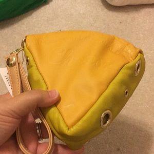 Accommode cheese purse wristlet